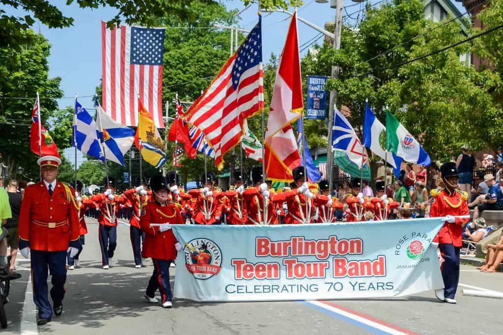 Search burlington teen tour band