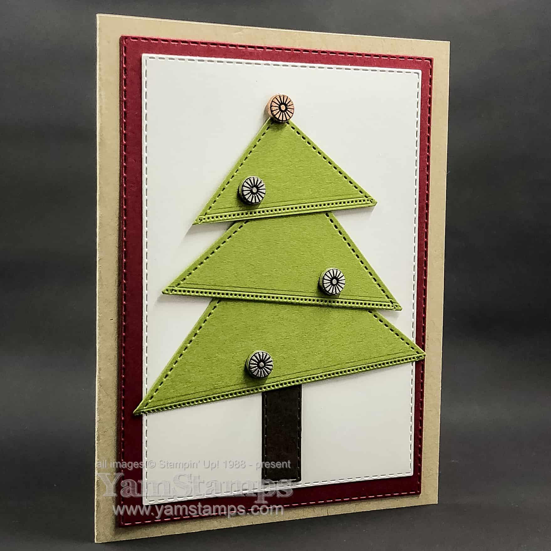 Diy Christmas Card Ideas 1 Yamstamps Com Linda S