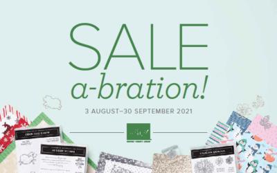 Sale-a-Brate a New Mini Catalogue!